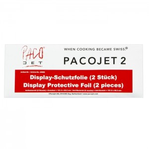 Pacojet 2/PLUS Screen Display Protective Foil